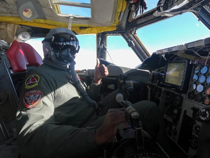 第96爆撃飛行隊のB-52Hパイロット(Image:USAF)