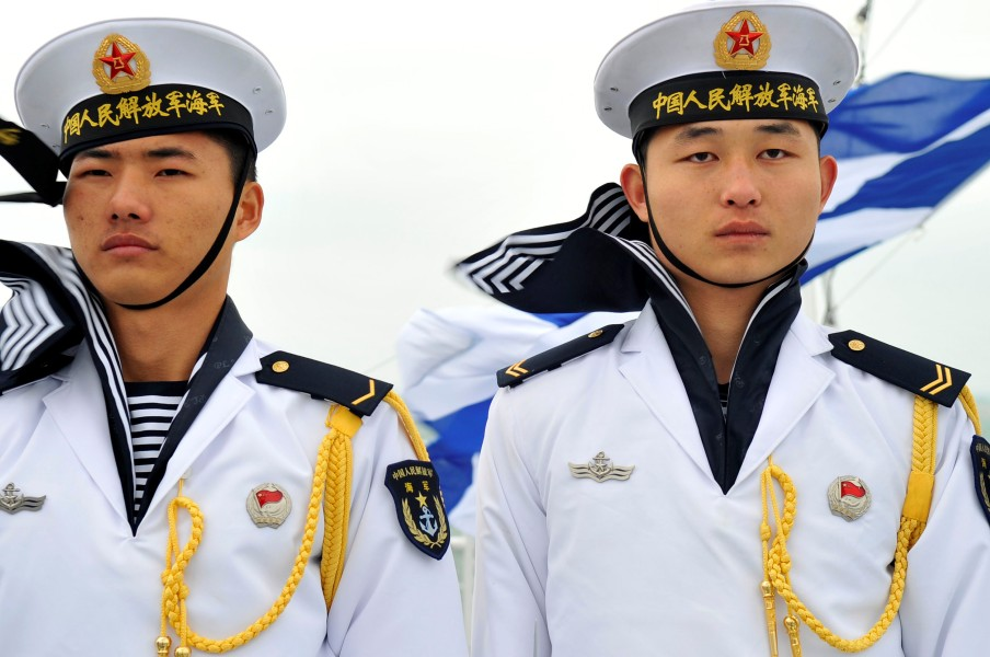 中国人民解放軍海軍の兵士(Image:U.S.Navy)