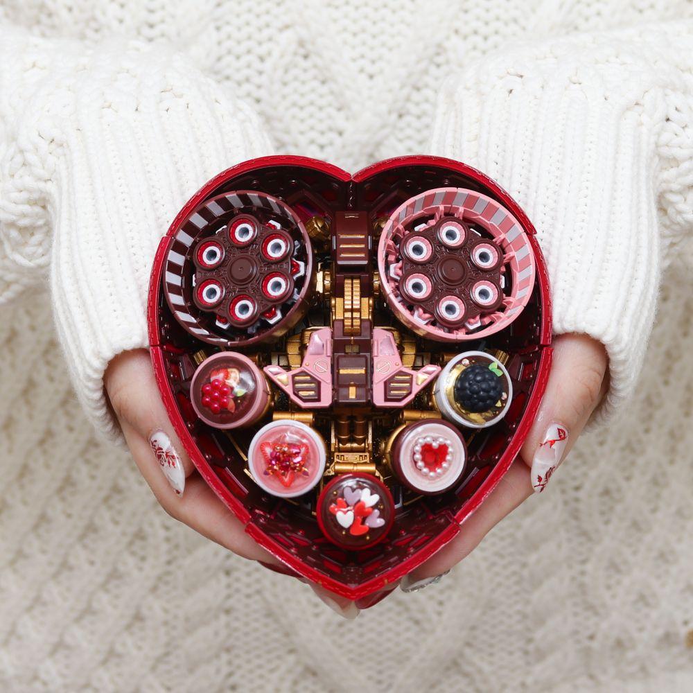 ハッピーバレンタイン? ガンプラで「ハートのチョコ」を作ったプラモデラー