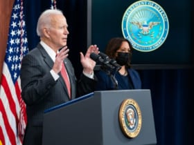 対中タスクフォース設立を発表するバイデン大統領(Image:ホワイトハウス)