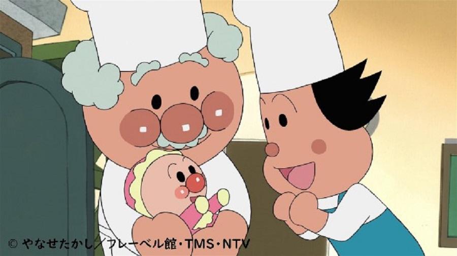 赤ん坊のアンパンマン