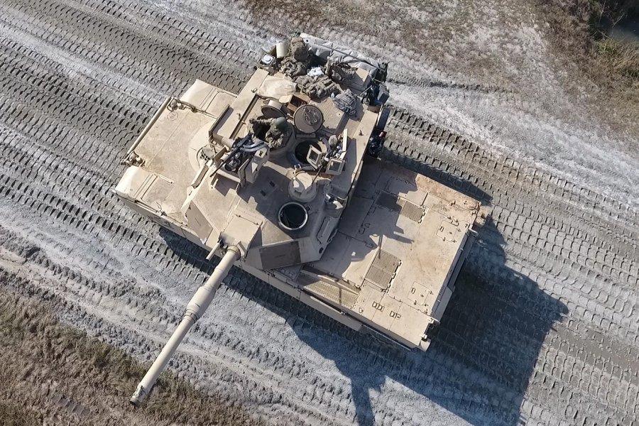 アメリカ陸軍のM1A2(Image:U.S.Army)