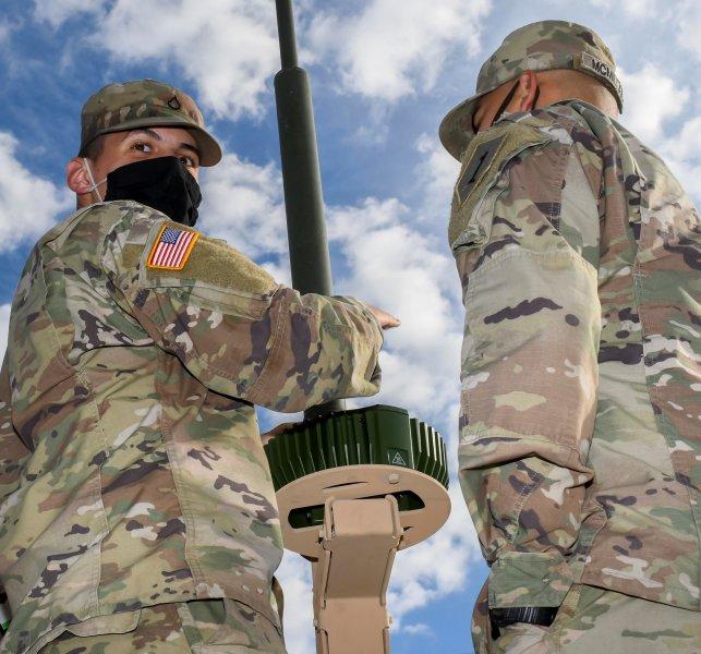 試験で取り付けられたMAPSのユニット(Image:U.S.Army)