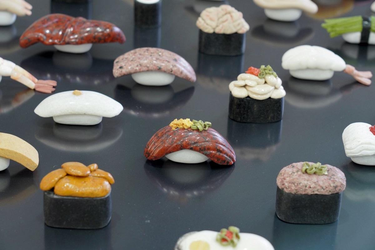 つややかな質感のある寿司たち