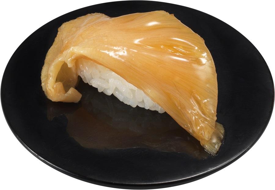 フカヒレを贅沢に使用した「上海風フカヒレにぎり」