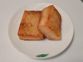 かるかんのバター揚げ焼き(茸本朗さん提供)