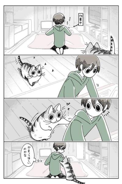 猫飼いあるある 飼い猫の構ってちゃんについ…… 1枚目