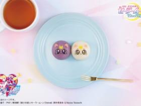「美少女戦士セーラームーン」のルナ&アルテミスが和菓子に!全国のローソンで発売