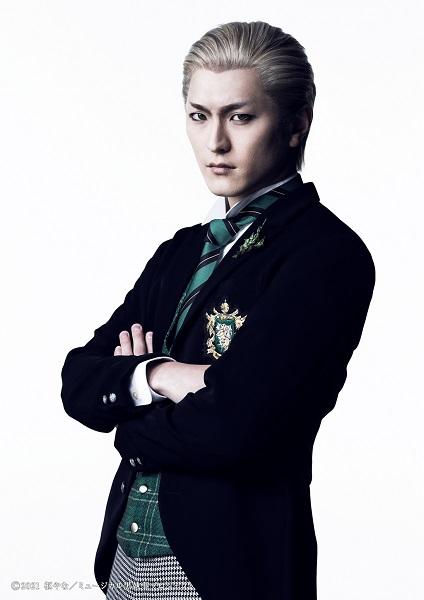 ハーマン・グリーンヒルを演じる田鶴翔吾