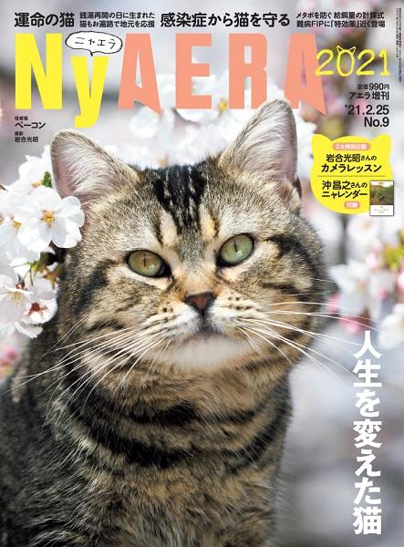 AERAが一冊まるごと猫化する臨時増刊「NyAERA(ニャエラ)」
