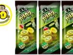 今年で40周年を迎えるガリガリ君の新商品「大人なガリガリ君キウイ」