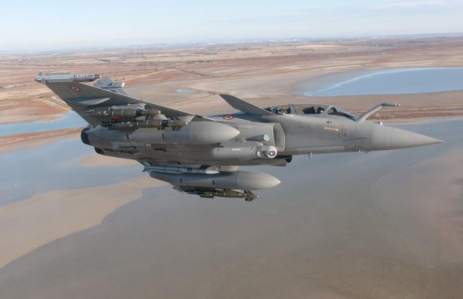 フランス航空宇宙軍のラファール(Image:フランス軍事省)