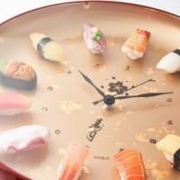 寿司の食品サンプルが時計に 北村サンプル「寿司時計プレミアム…