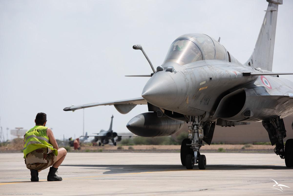 フランス航空宇宙軍のラファール(Image:フランス航空宇宙軍)