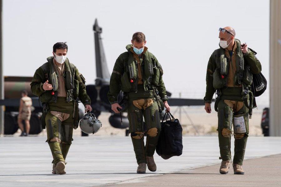 訓練ツアー「Skyros」に参加したパイロット(Image:EMA)