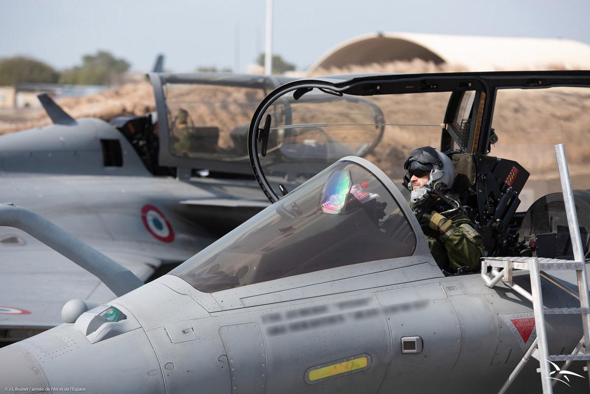 フランス戦闘機ラファールがアジア諸国への遠征訓練ツアーを実施