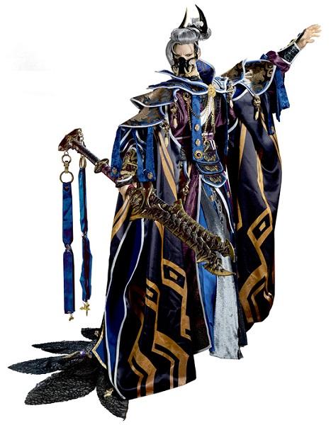 萬軍破(バングンハ)はキャラクターデザインを源覚が、CVを大塚明夫が担当。