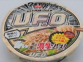 ソースが無駄に白い?味はいつもの「日清焼そばU.F.O.」を実食