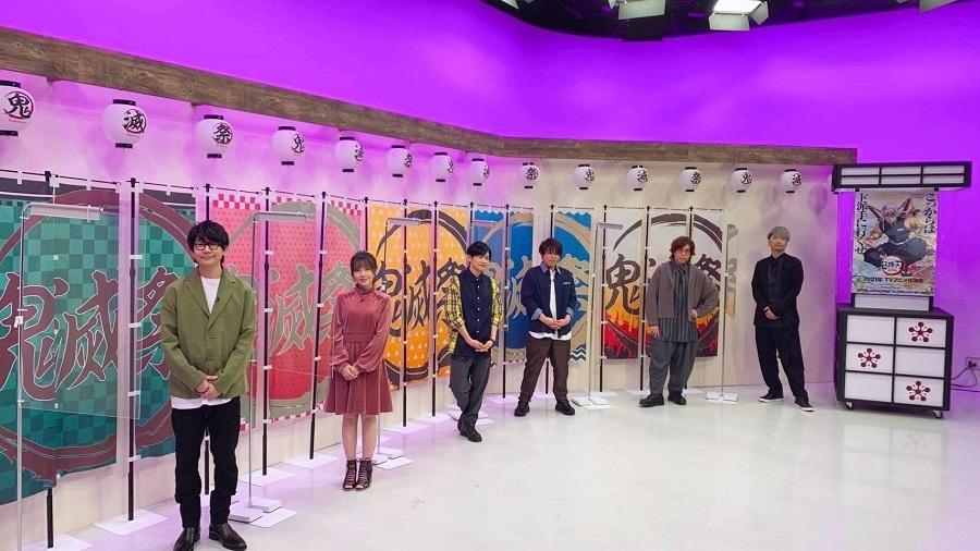 『鬼滅祭オンライン -アニメ弐周年記念祭-』では竈門炭治郎役の花江夏樹さんほか、メインキャストが集結。