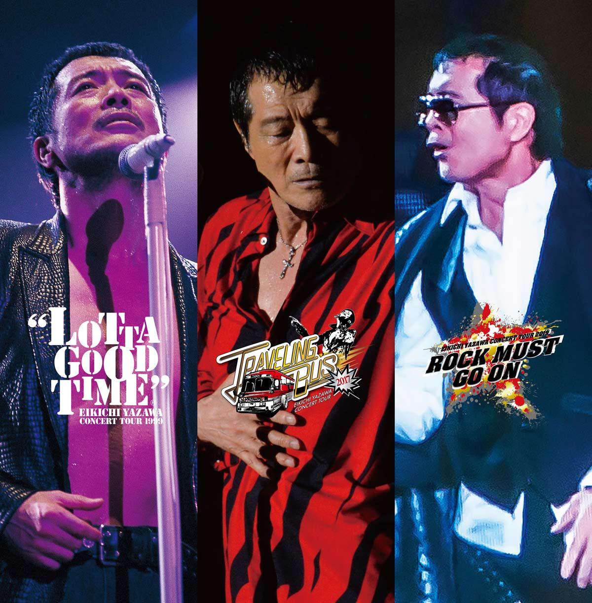 タオルの用意はいいか!矢沢永吉ライヴ映像3本がBD&DVDでリリース決定
