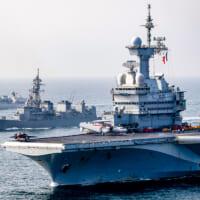 海上自衛隊護衛艦ありあけ アデン湾でフランス空母らと多国間共…