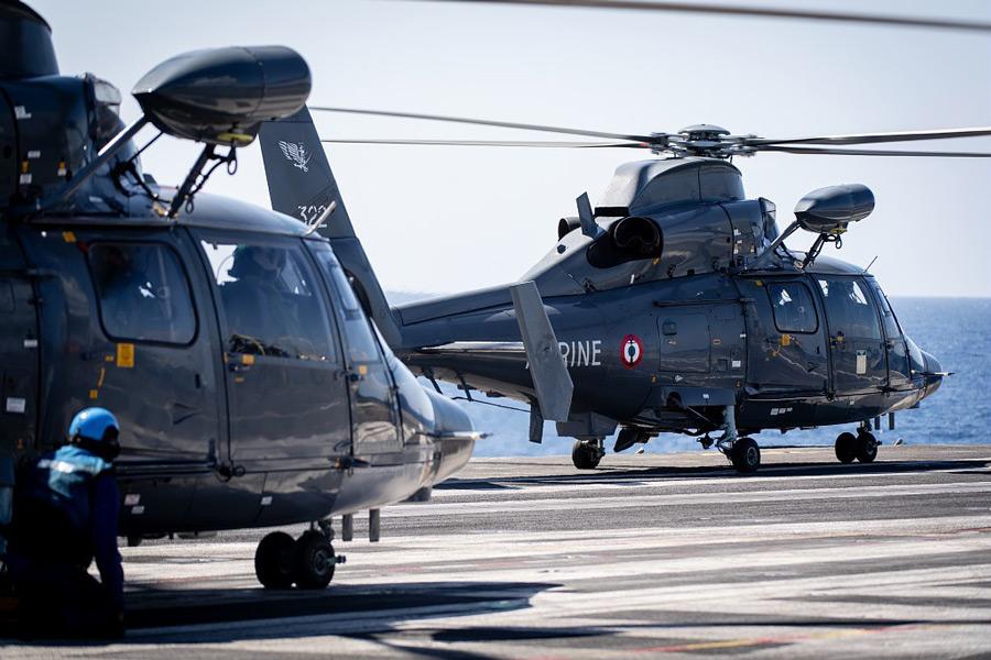 フランス海軍のドーファン(Image:フランス海軍)