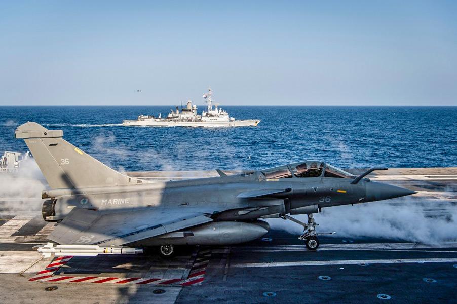 多国間共同訓練「ダイナミック・マンタ」(Image:フランス海軍)