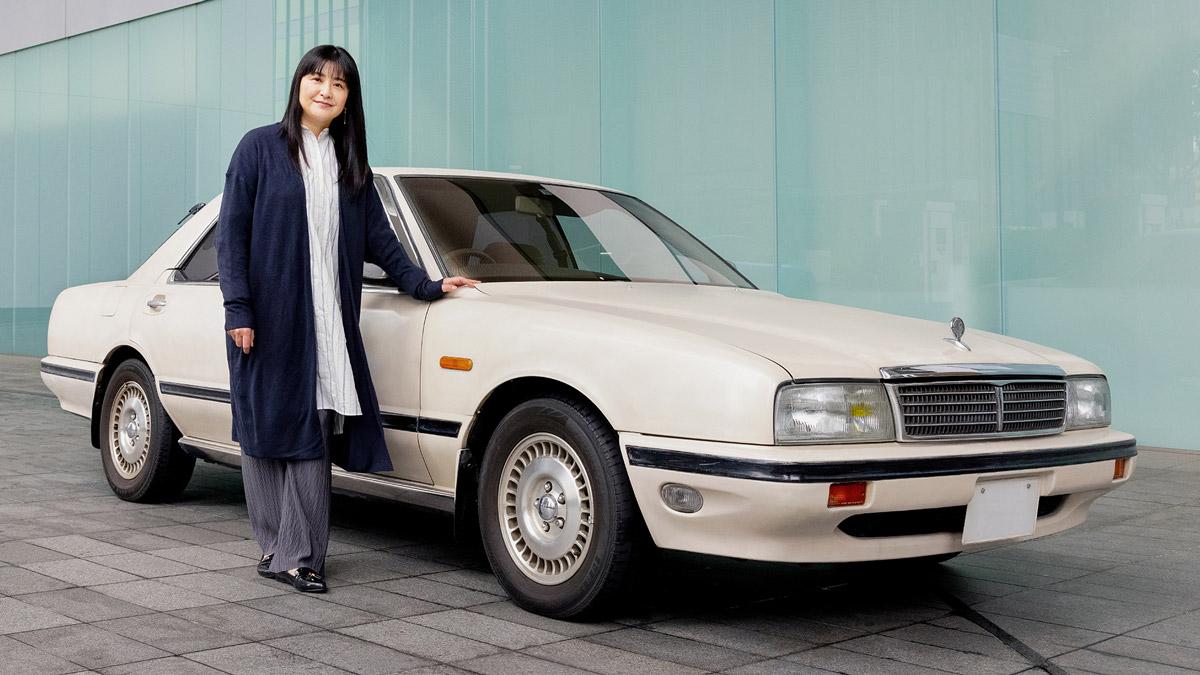 伊藤かずえの愛車「初代シーマ」を日産がレストア 進行状況をTwitterで発信