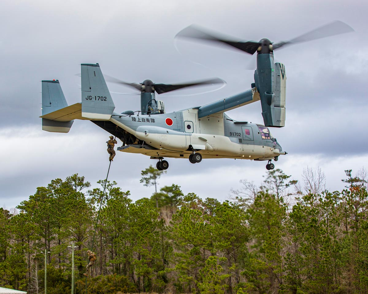 V-22オスプレイが通算60万飛行時間達成 米軍では2050年まで運用予定