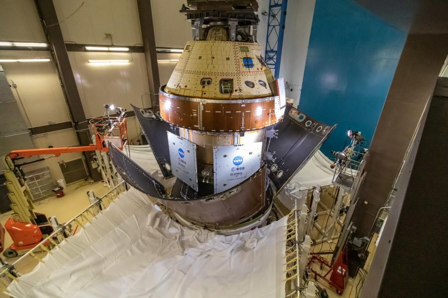 オリオン宇宙船のフェアリング分離試験(Image:Lockheed Martin)