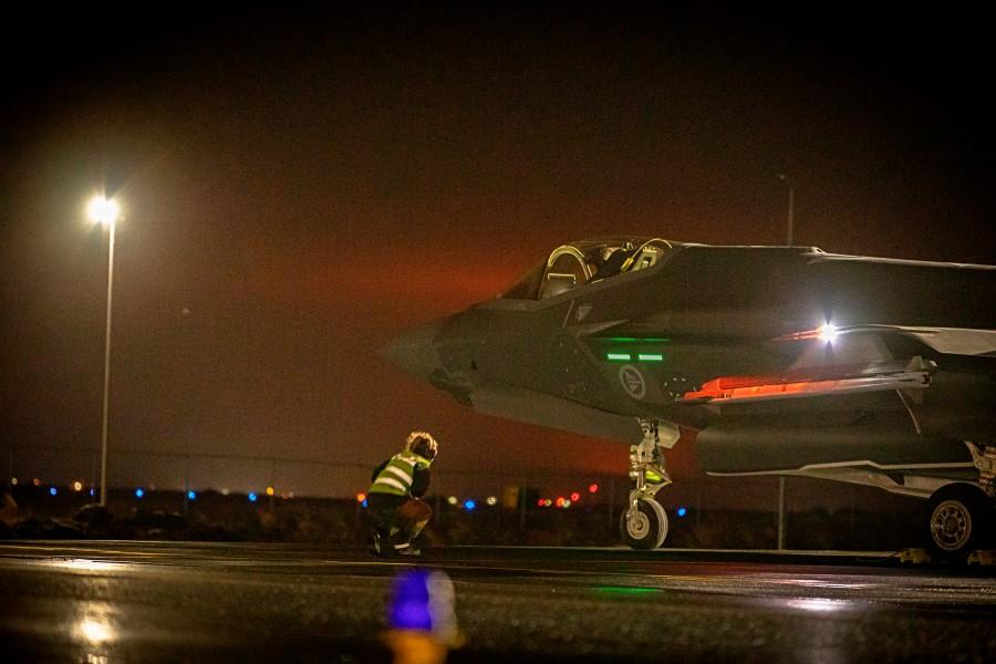 夜間訓練(Image:ノルウェー空軍)
