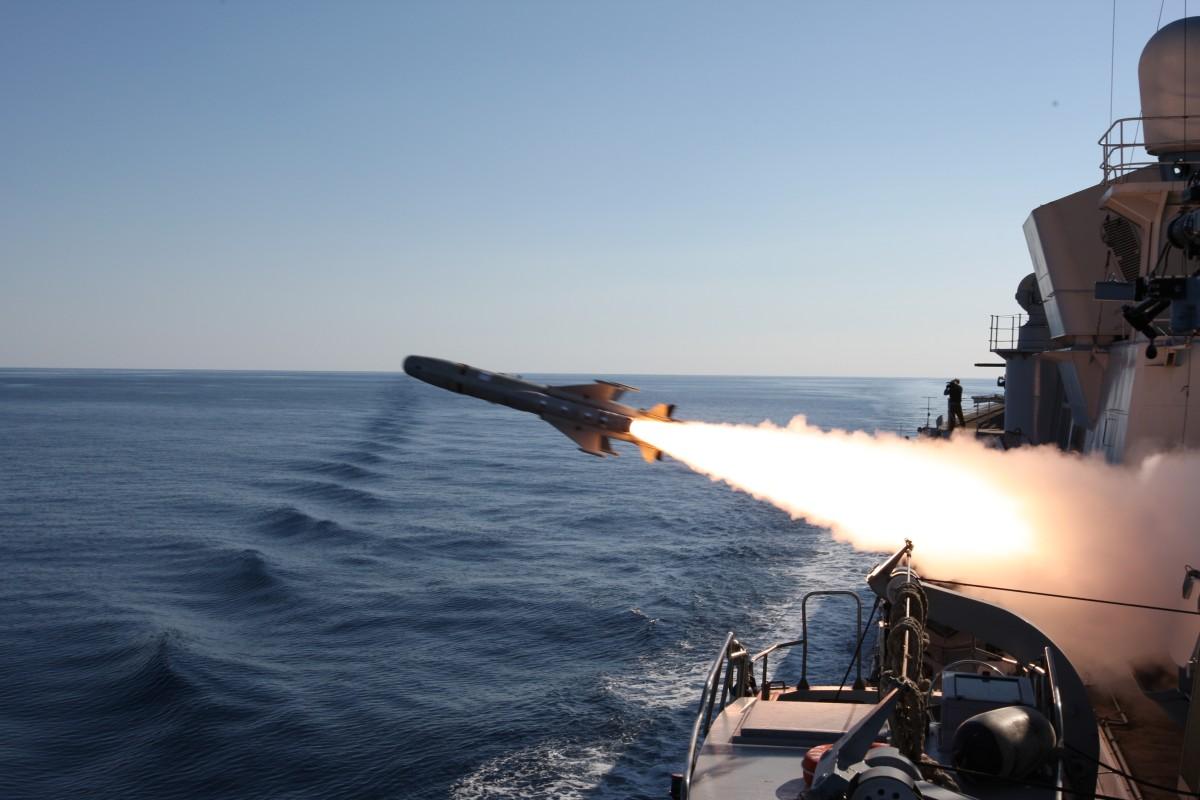テセオMk2/Aの発射(Image:MBDA)
