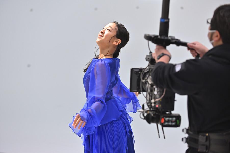 撮影中の浅田さん