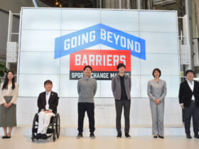 「SPORTS CHANGE MAKERS」プレイベント in Mirror Field