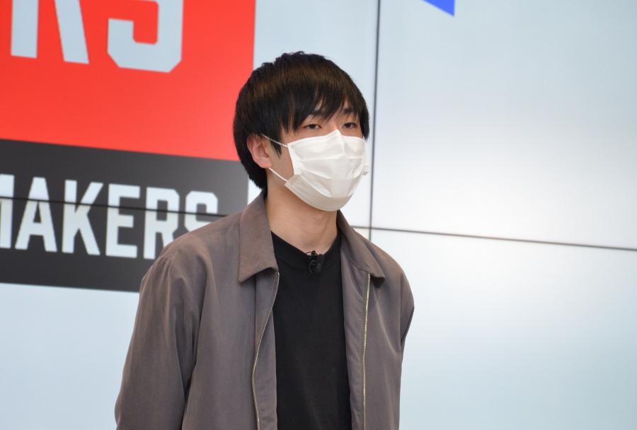 日本代表の横瀬健斗さん