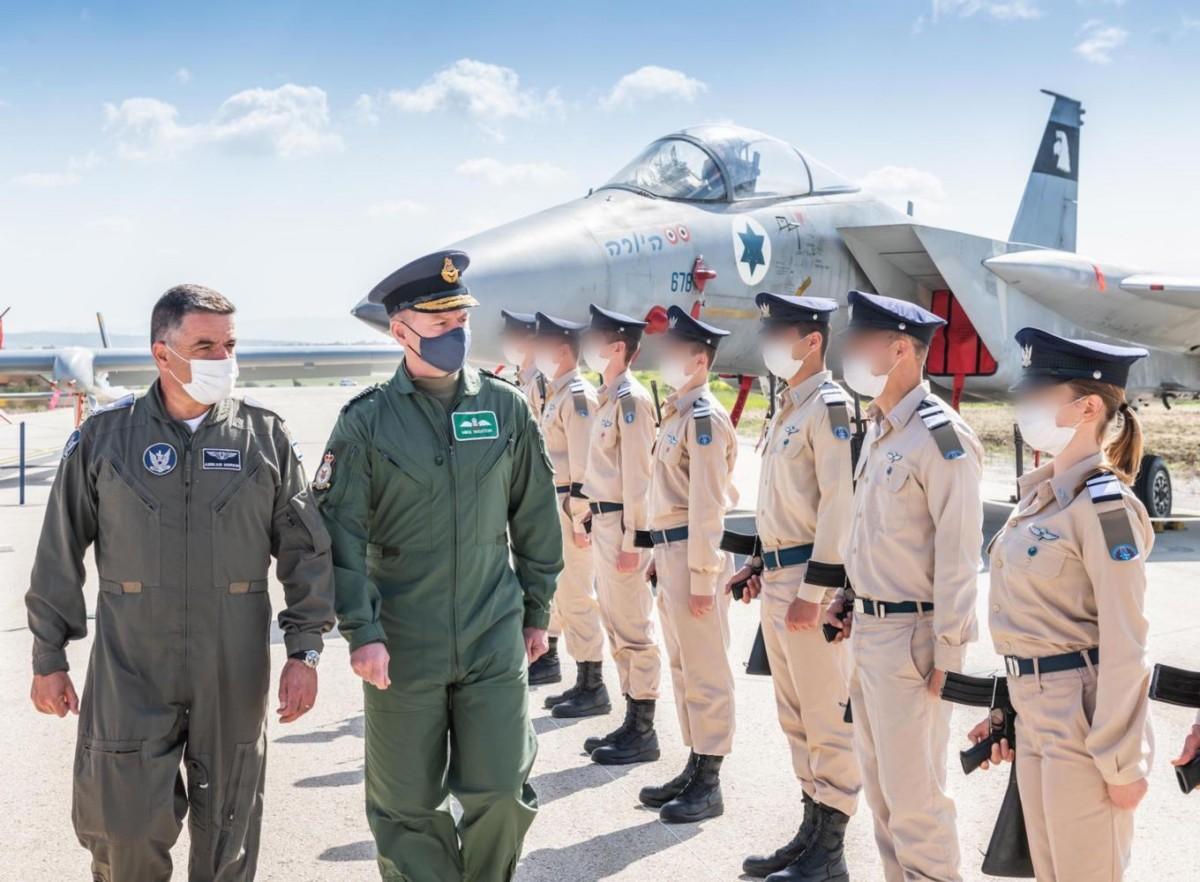 イギリス空軍参謀総長が初のイスラエル訪問 今年後半に共同訓練を予定