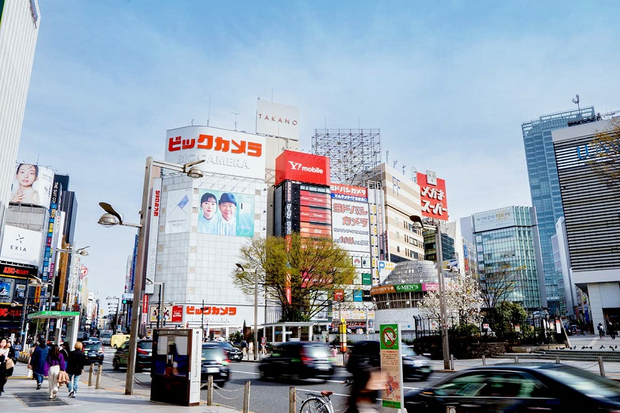 第2位の「新宿」