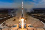 OneWeb衛星を載せて打ち上げられるソユーズ2.1bロケット(Image:Roscosmos)