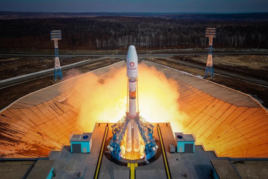 打ち上げられるソユーズ2.1bロケット(Image:Roscosmos)