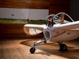八谷和彦さんの「M-02J」と柏飛行場で木村秀政が撮影した秋水の写真