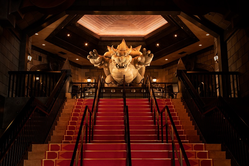 クッパ城(大階段の間)