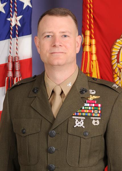 MV-22統合計画オフィスのマシュー・ケリー大佐(Image:USMC)