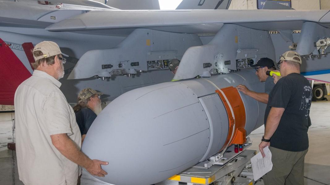 EA-18Gに搭載されたAN/ALQ-249(V)1(Image:U.S.Navy)