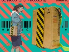 「映像研には手を出すな!」の著者・大童澄瞳さんオリジナルデザインのダンボールショルダーバッグ
