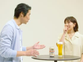 堤真一と満島ひかりが豪華ゲストの本音を聞き出す「新・一番搾り」CM放送中