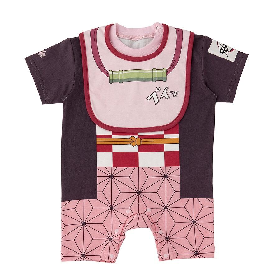 禰豆子モデルはピンクの麻の葉模様のデザインが特徴。
