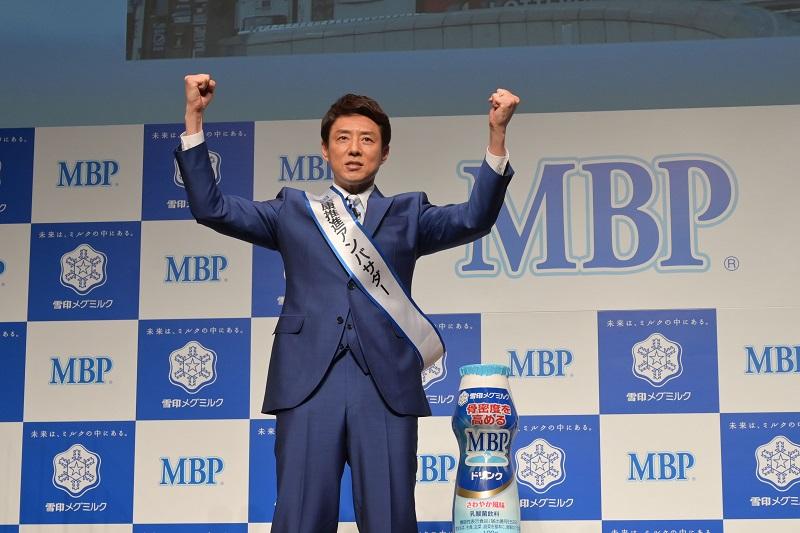 松岡修造さんがステージに登場