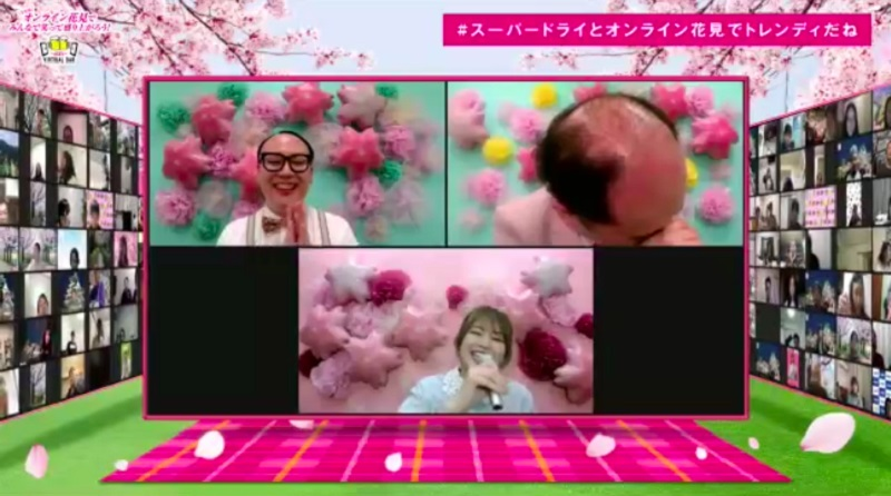 稲村さんがDREAMS COME TRUEの名曲「大阪LOVER」で生歌を披露