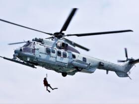 フランス航空宇宙軍のH225M(Image:フランス航空宇宙軍)