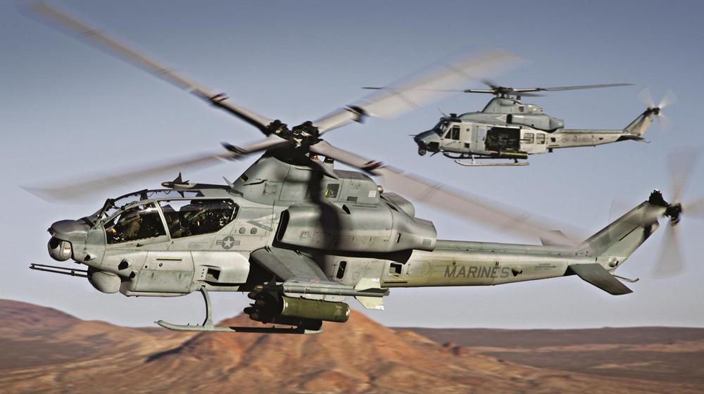 AH-1ZとUH-1Y(Image:Bell)